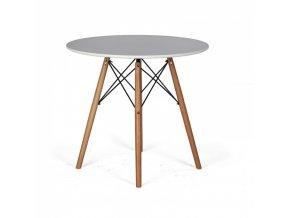 Designový jídelní stůl BELLEZA, bílý