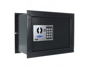 Stěnový sejf elektronický BT Z1, 10 l