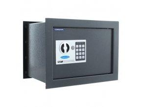 Stěnový sejf elektronický BT, 18 l