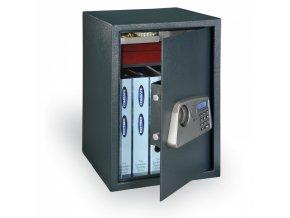 Nábytkový sejf elektronický BT, 50 l