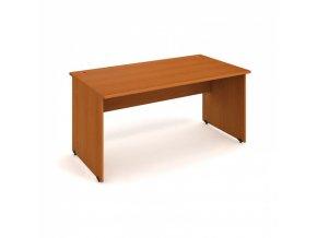 Pracovní stůl UNI, rovný 1600 x 800 mm, třešeň