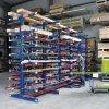 Konzolový regál, oboustranný, 430 kg, 2500 x 1330 x 1240 mm, základní