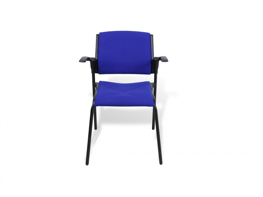 52269 konferencni zidle rim em 570 modra s calounenym sedadem a operkou