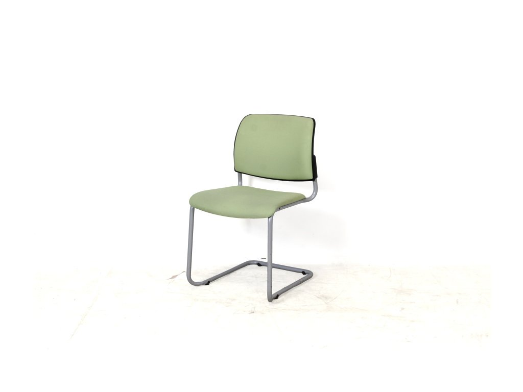 57970 2 zidle konf rim svetle zelena