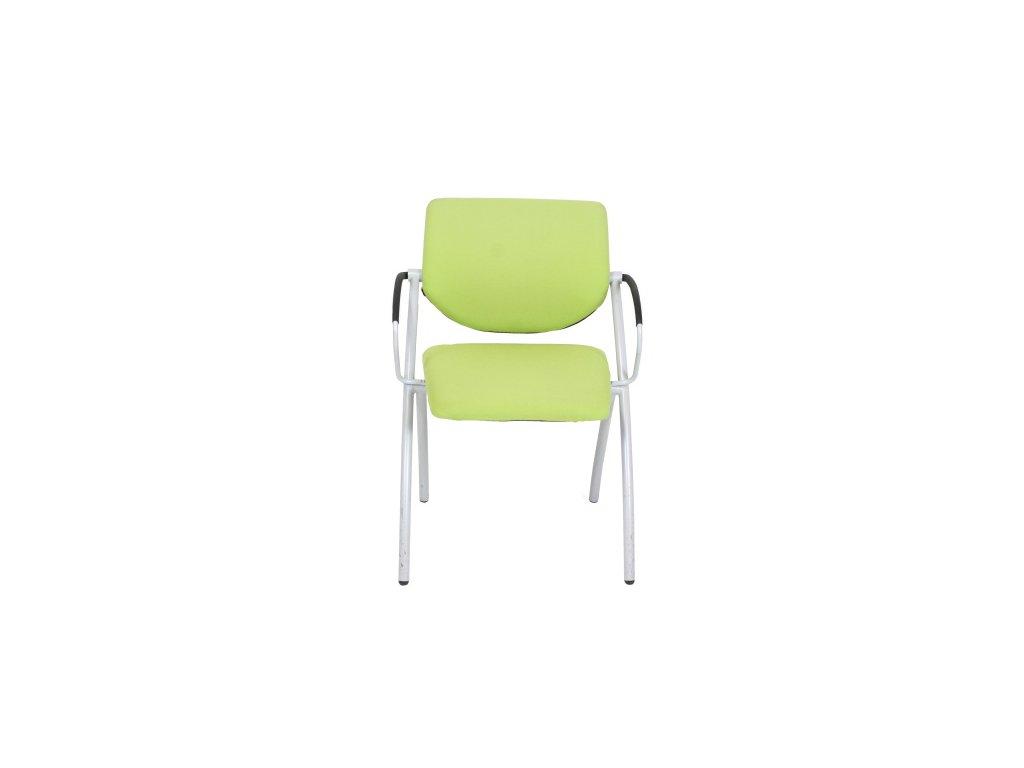 Židle konf. Steelcase Strafor2 zelená,područky