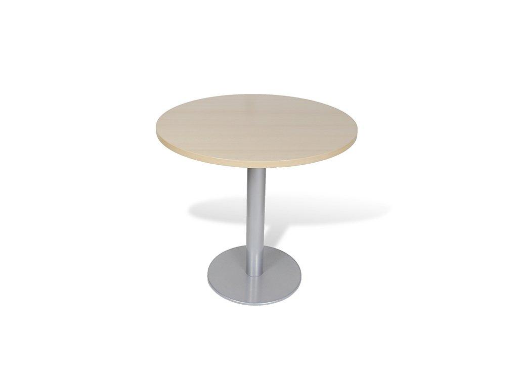 Stůl konferenční Samas kulatý,80x75,sv. buk