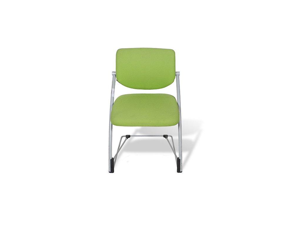 Židle konf. Steelcase Strafor zelená