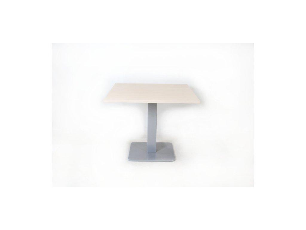 Stůl konf. 90x90 bělený dub
