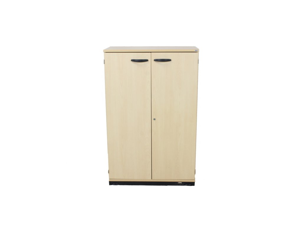 Skříň Kinnarps 3OH, bříza, 80x1250x40