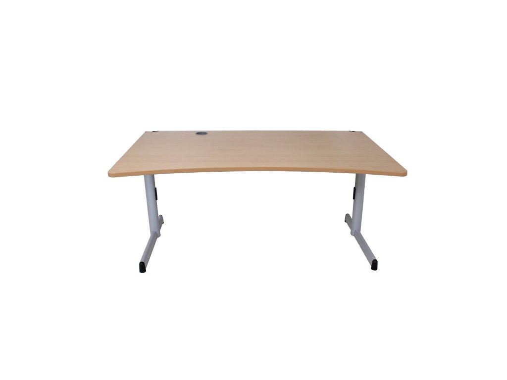 Stůl Steelcase Werndl 160x100/90 v:64-82cm buk