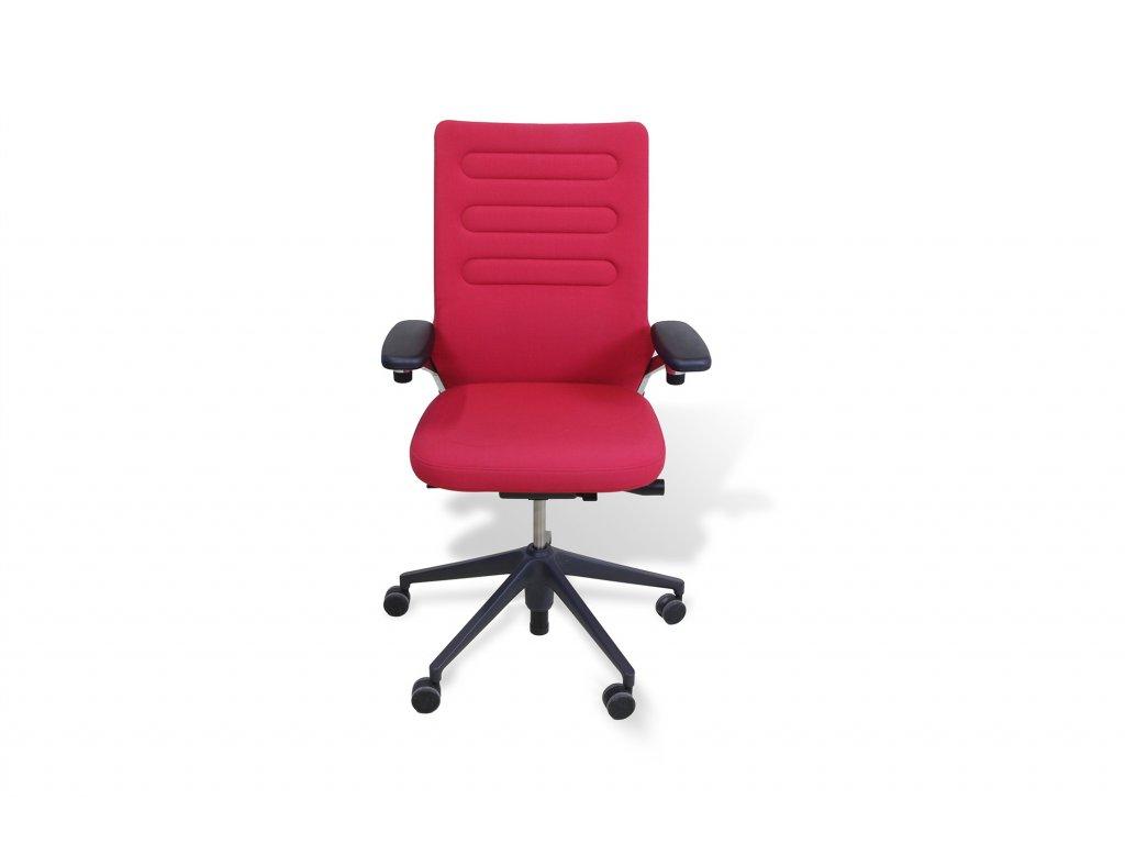 Židle kancelářská, Vitra AC4, červená