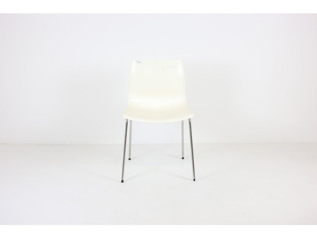 židle bílá plastová