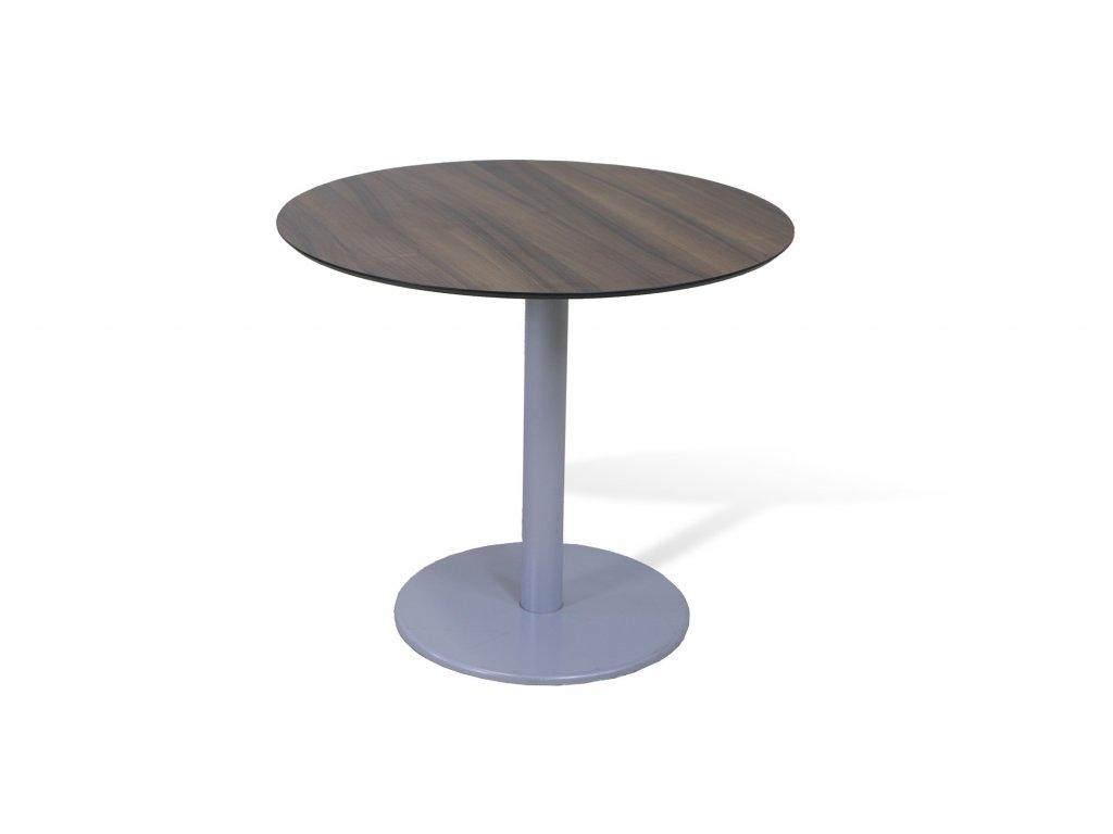 Stůl konferenční, kulatý 80, ořech