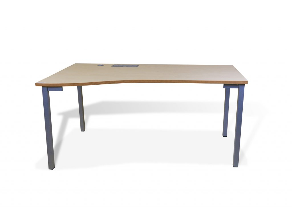 Stůl, NSG, 160x90, bříza, levý