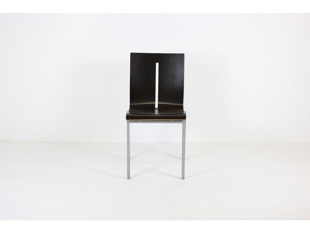 židle, Ld sitting, hnědá, dřevěná bez područek