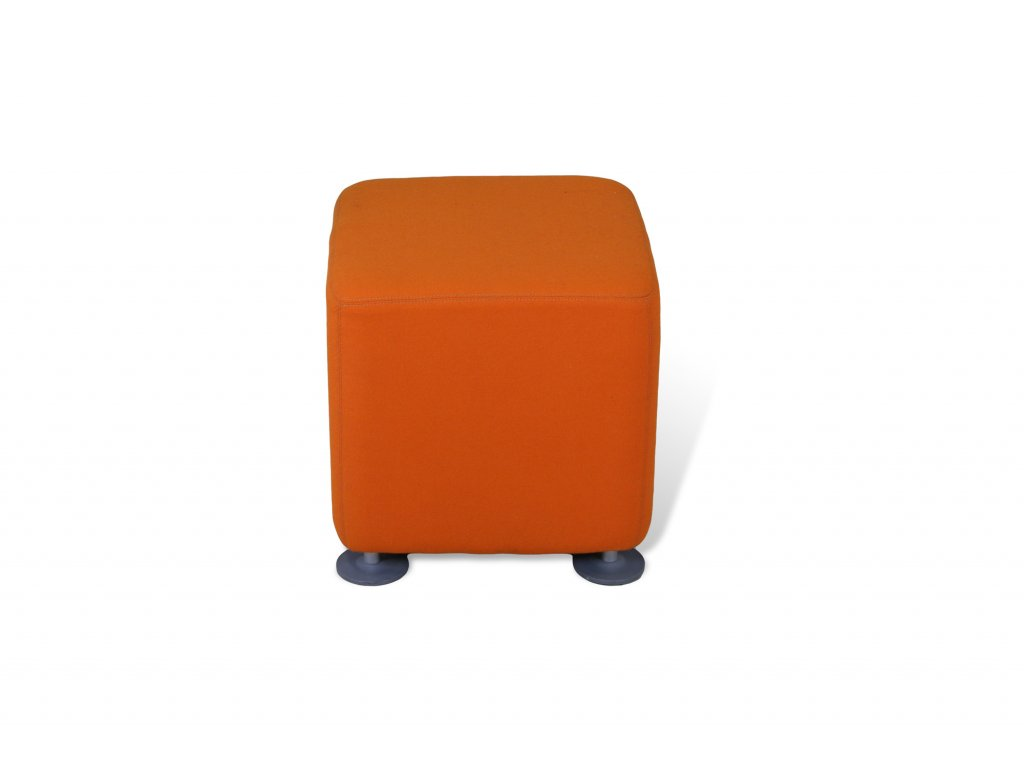 Sedák kostka , Steelcase , 42x42, oranžová