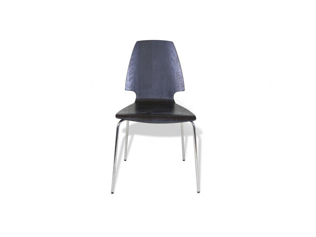 Židle, Ikea, černá, dekor dřeva