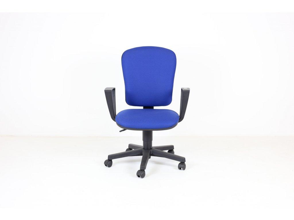 Židle kancelářská, LDseating, Praktik1, modrá/černá