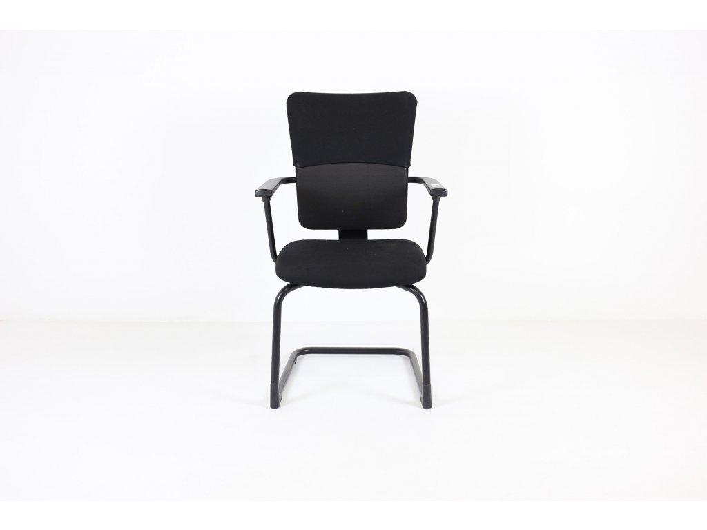 Konferenční židle  Steelcase, černá, područky