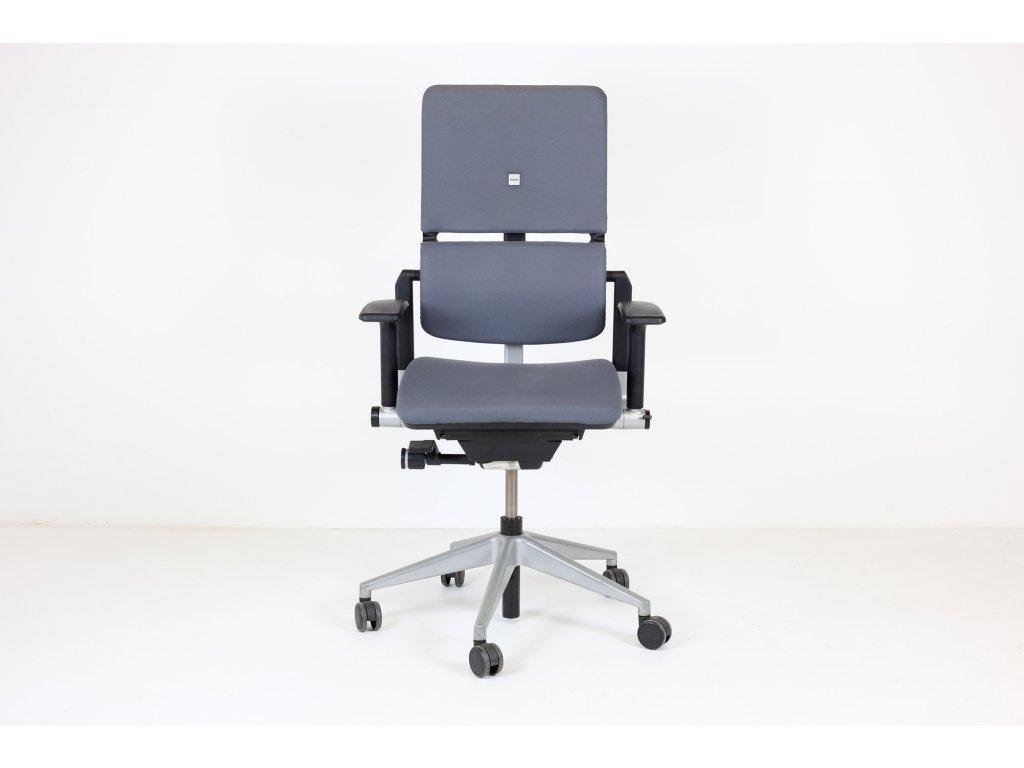 Židle kancelářská, SteelCase, Please, šedá, ergo, područky