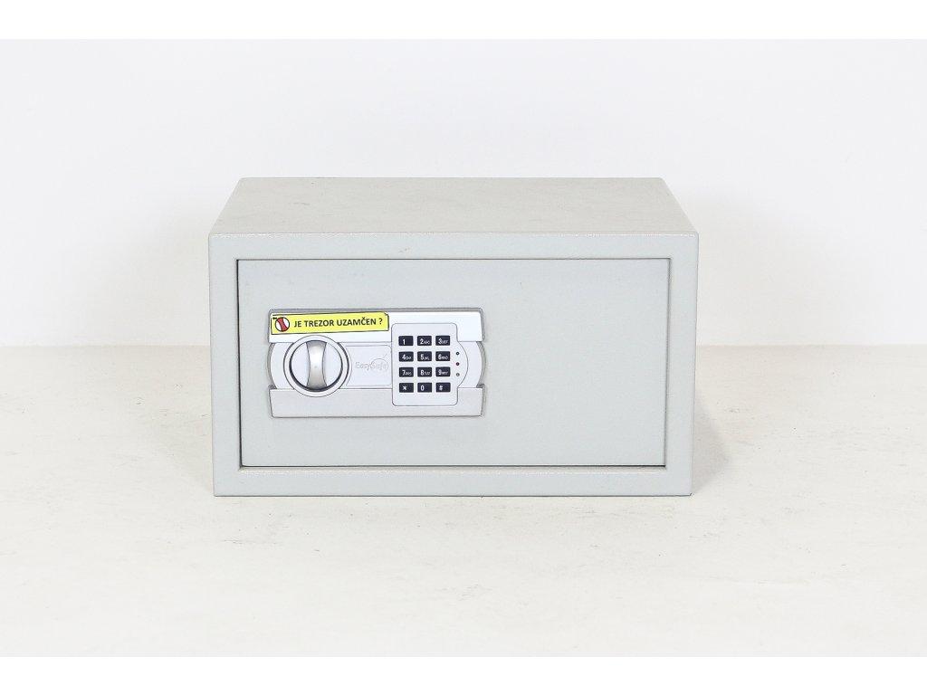 Trezor, 25 x 45 x 37, bílý, kód, ukazatel stavu baterie