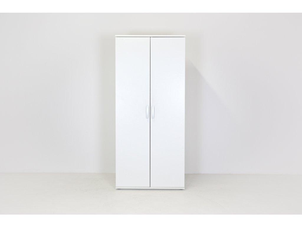 Skříň 50H, Narbutas, 178x80x47, bílá, šatní