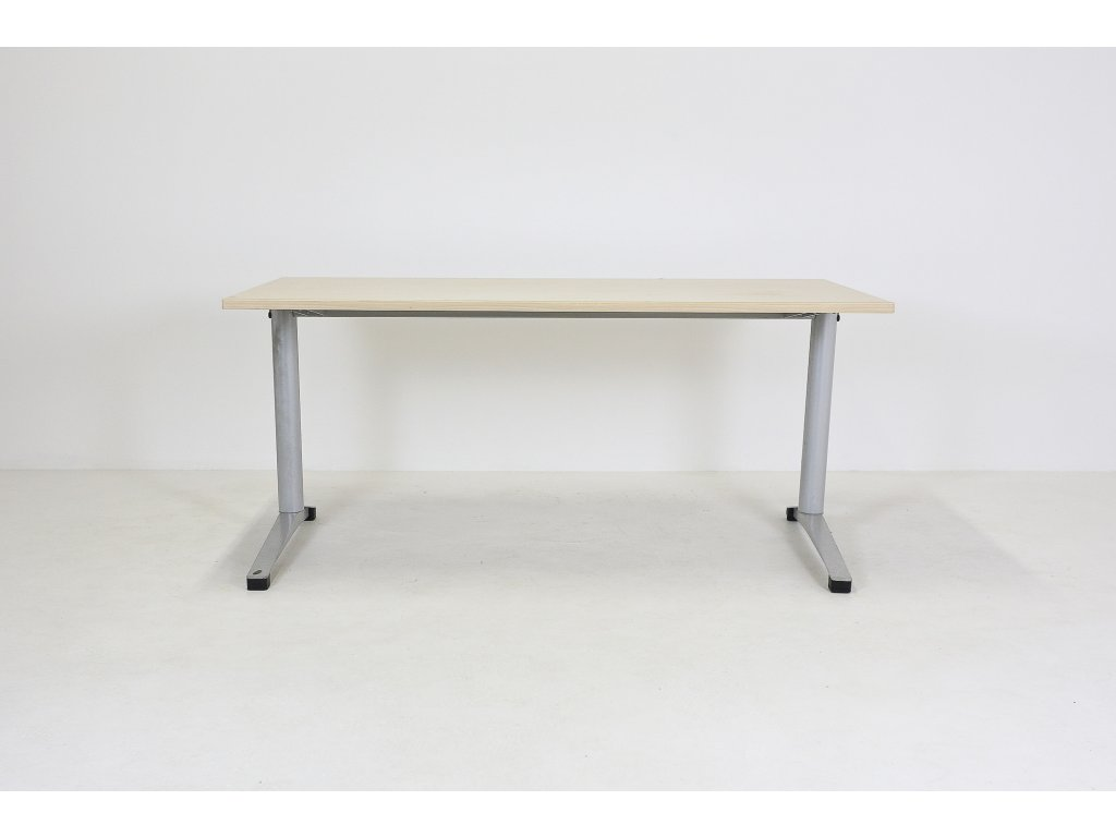 Stůl Steelcase Werndl, 160x80, javor/šedá