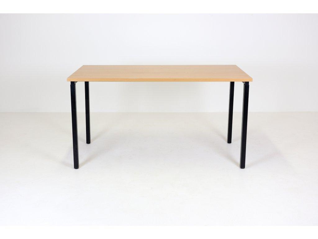 Stůl 150 x 80, jäkl, buk/černá,