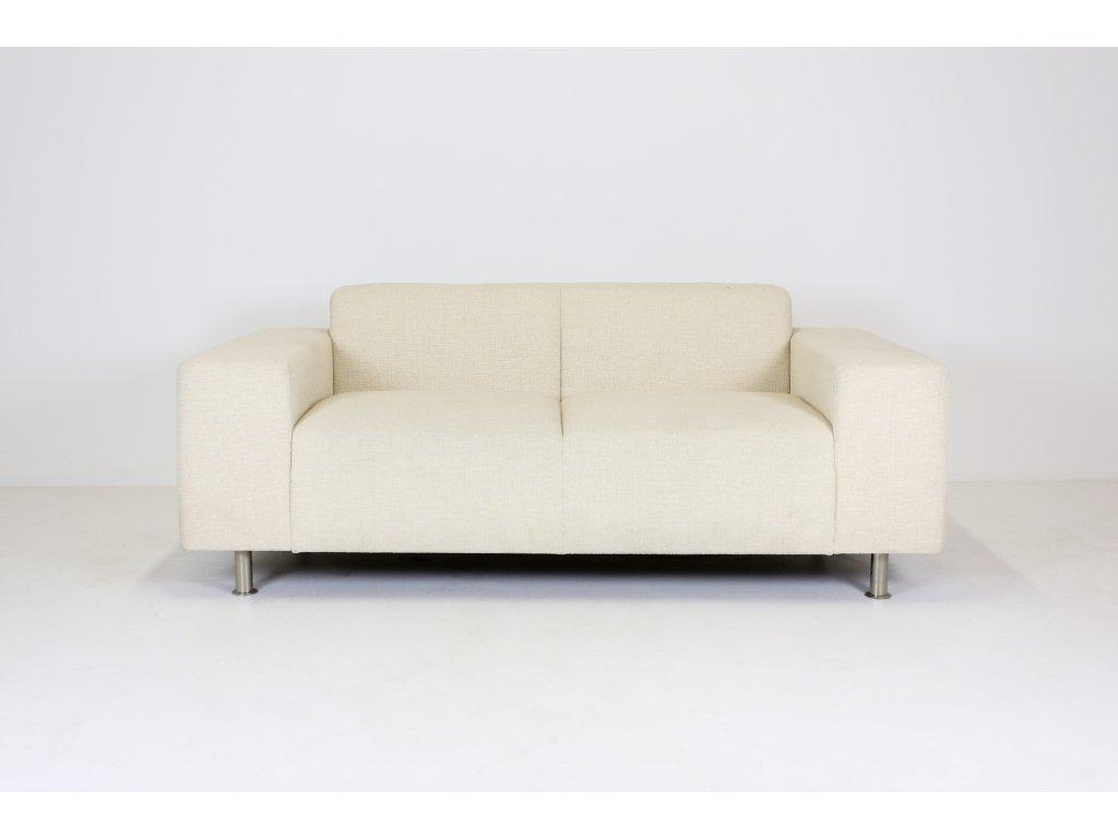 Sofa, 180x90, Mobilier, béžová látka, 2 sedák