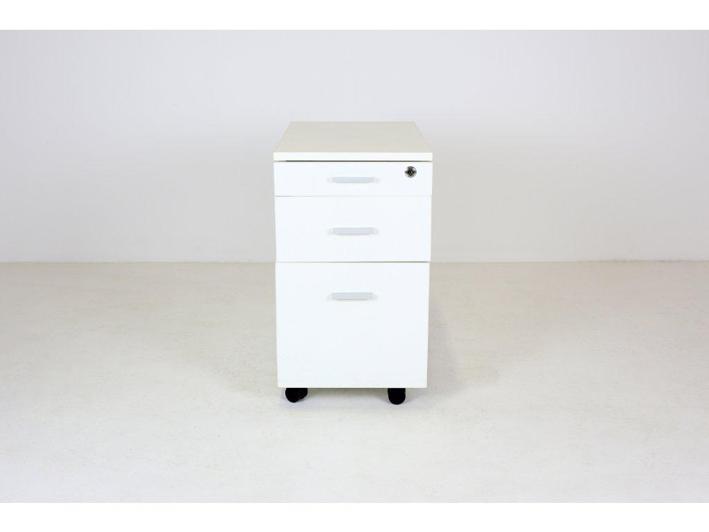 Kontejner, Techo, 60x60x34, bílý, tužkovník, závěsné desky