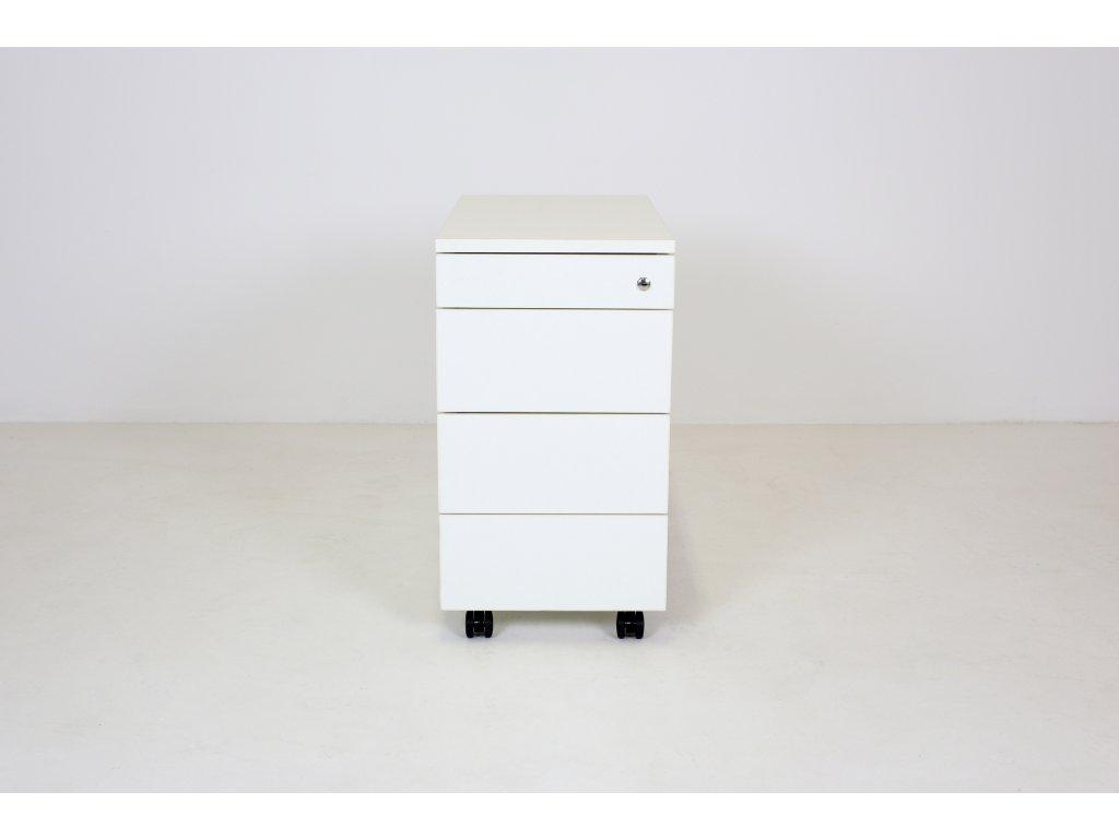 Kontejner, Techo, 60x60x34, bílý, tužkovník