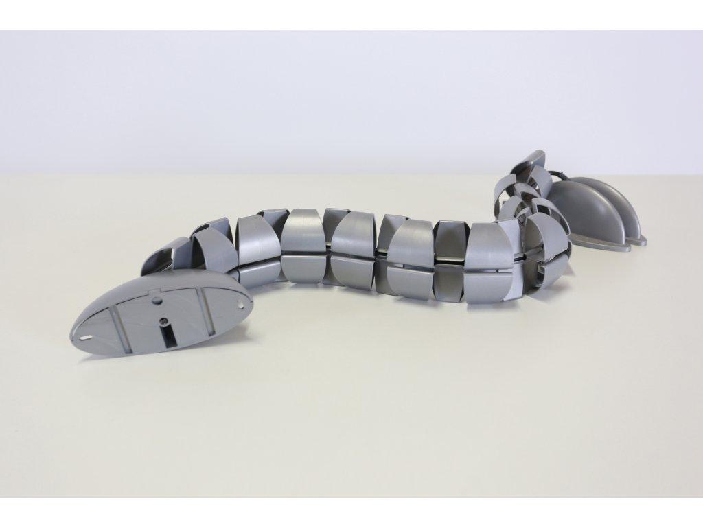 Kabelový had - šedý