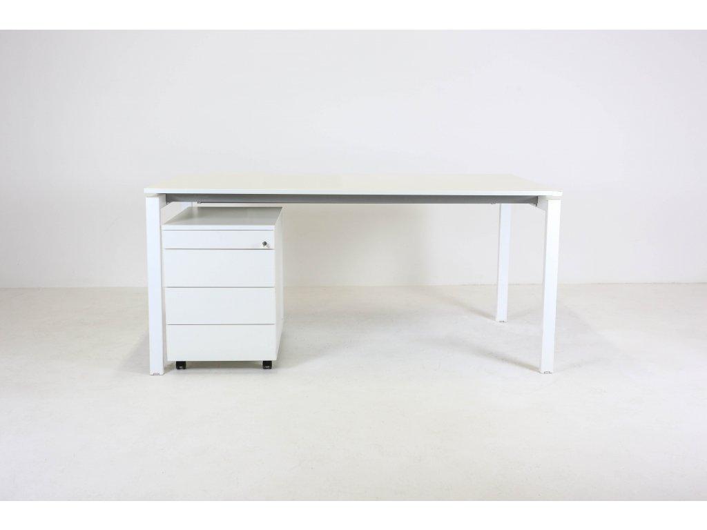 Set: Stůl Weisner H. 160x80 + kontejner Vitra