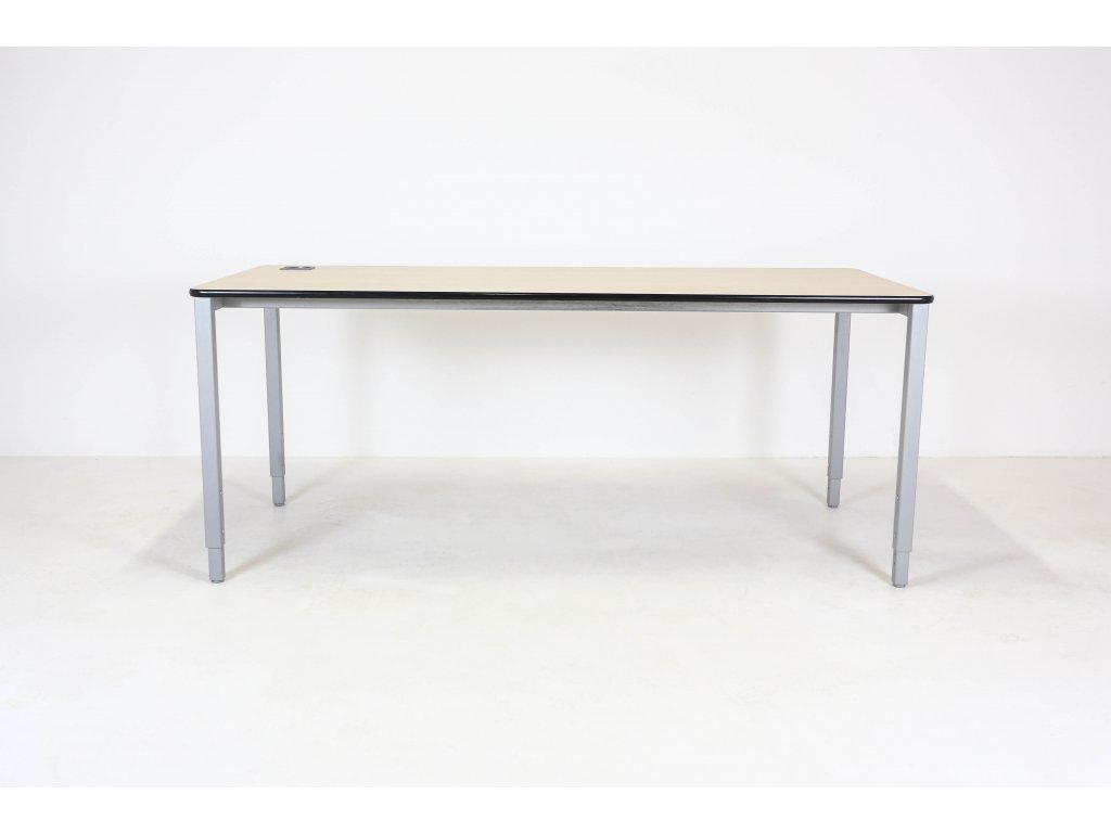 Stůl 180x80 cm, Neudoelfler, akácie/šedá, 20 mm