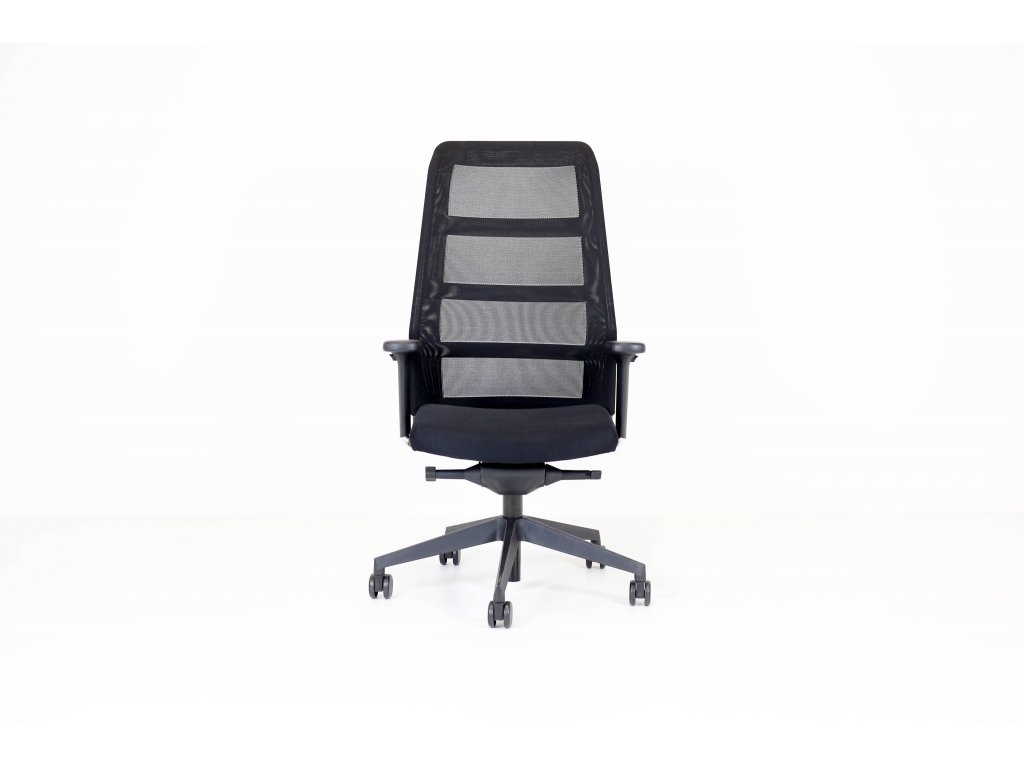 Židle PARO - Wiesner-Hager, černá - POŠKOZENÁ - STŘEDNĚ