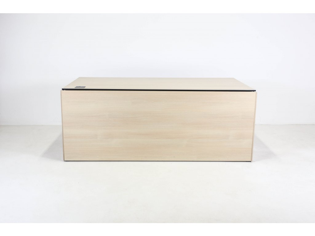 Stůl 180x80 cm, Neudoelfler, akácie/šedá, 10mm