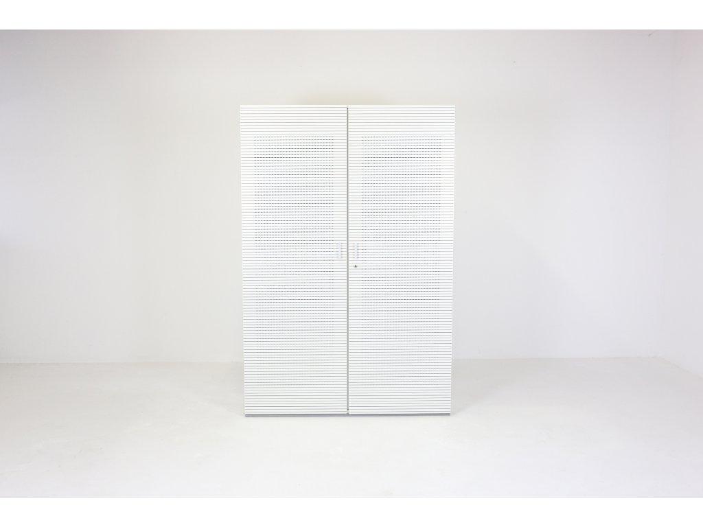 Skříň, Techo, 50H, 178x120x47, bílá, akustická