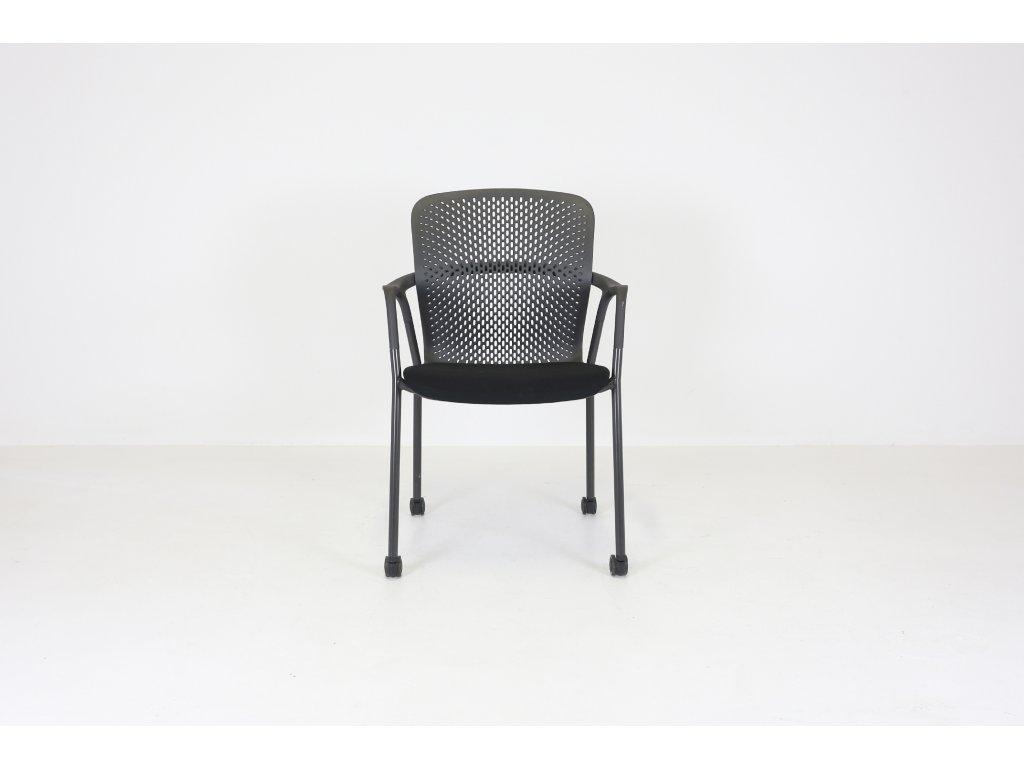 Židle konferenční, Herman Miller, Keyn, Granit, polohovatelná