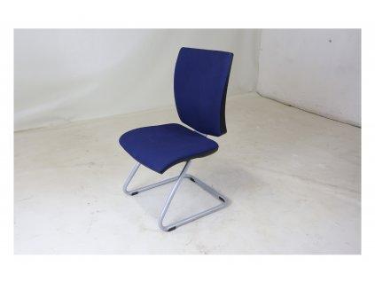 Židle konferenční, Ahrend, modrá