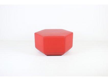 Taburet, MM int - červené