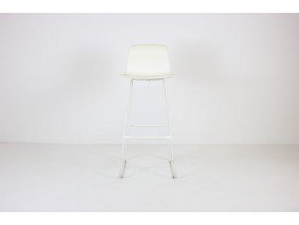 Barová židle, Lottus Enea, bílá