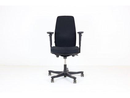 Židle kancelářská, Kinnarps, černá, područky