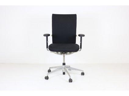 Židle kancelářská , Vitra, Axess, černá/bílá, područky