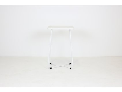 Židle barová, Steelcase, bílá/bílá