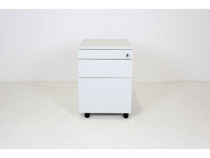 Kontejner, Techo, 60x60x43, šedý, závěsné desky