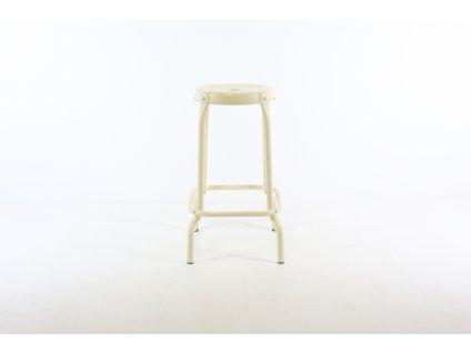 Židle barová, Ikea, béžová, kov