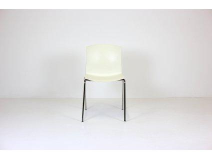 Židle konferenční, Rim, plast/chrom, plast
