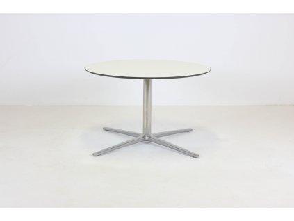 Stůl konferenční, pr75xv47, lešť.ALU/bílá deska
