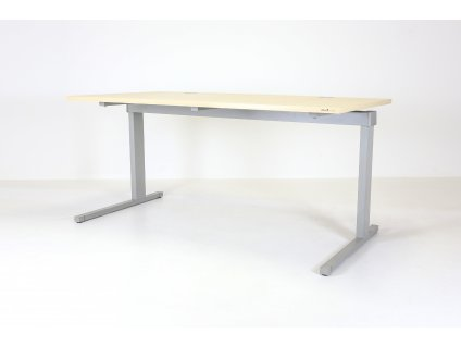 Stůl Techo, Horizont, 160x80, javor/šedá