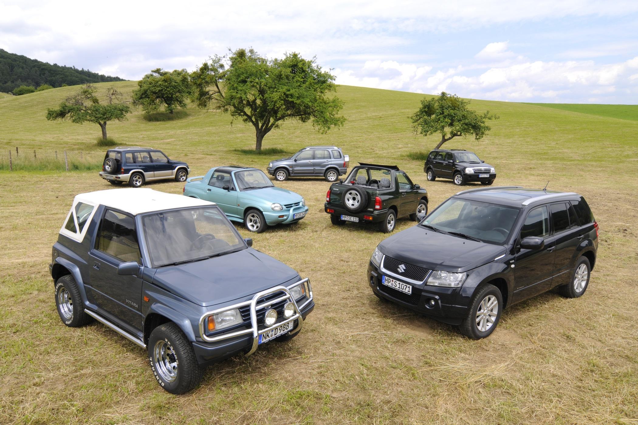 Vše o Suzuki Vitara od začátku až dodnes